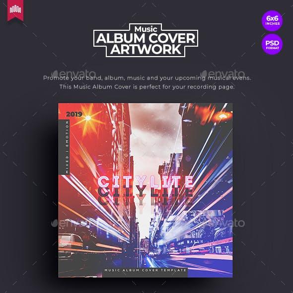 Citylite - Music Album Cover Artwork