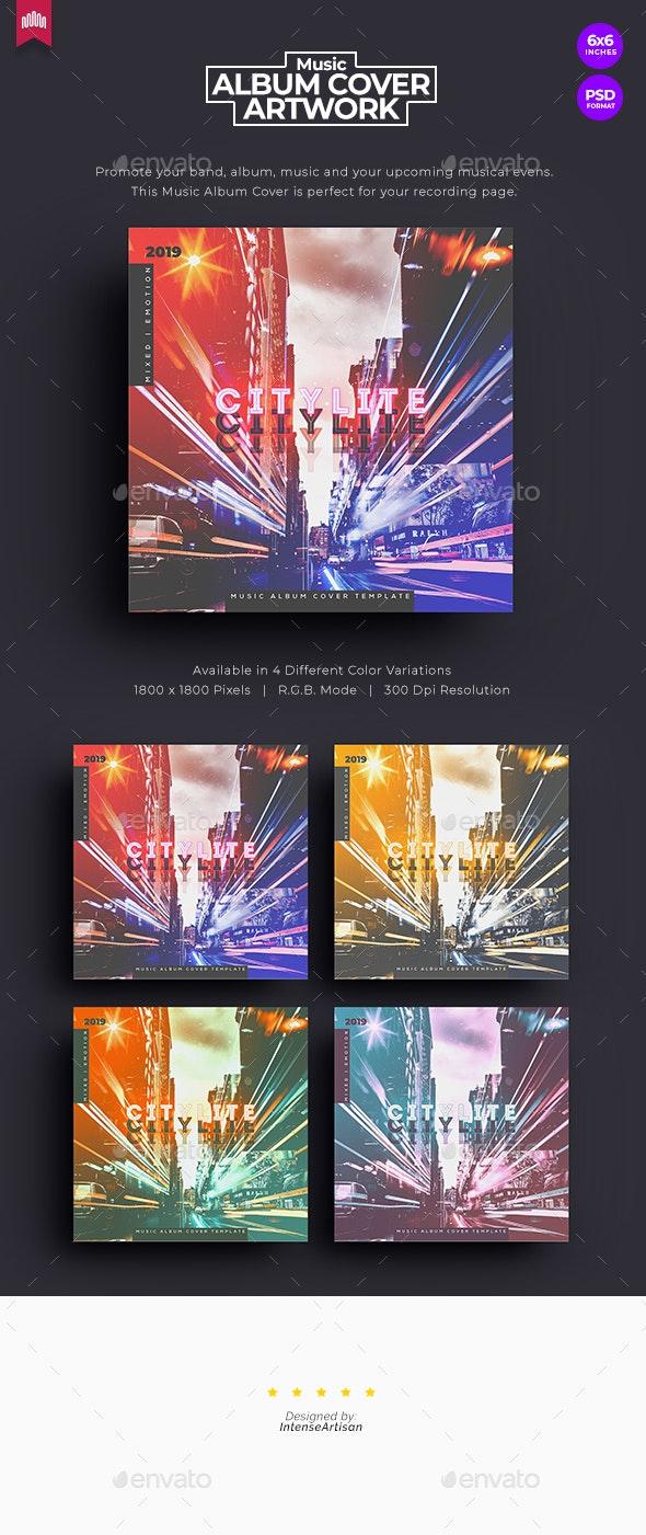 Citylite - Music Album Cover Artwork - Miscellaneous Social Media