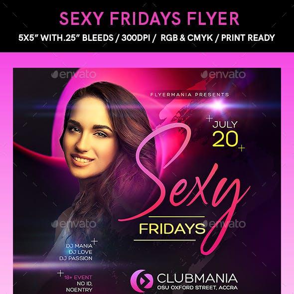 Sexy Fridays Flyer