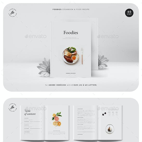 Foodies Cookbook & Food Recipe
