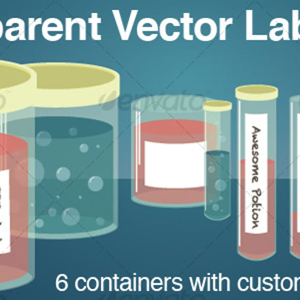 Transparent Lab Glass : Jars and Test Tubes