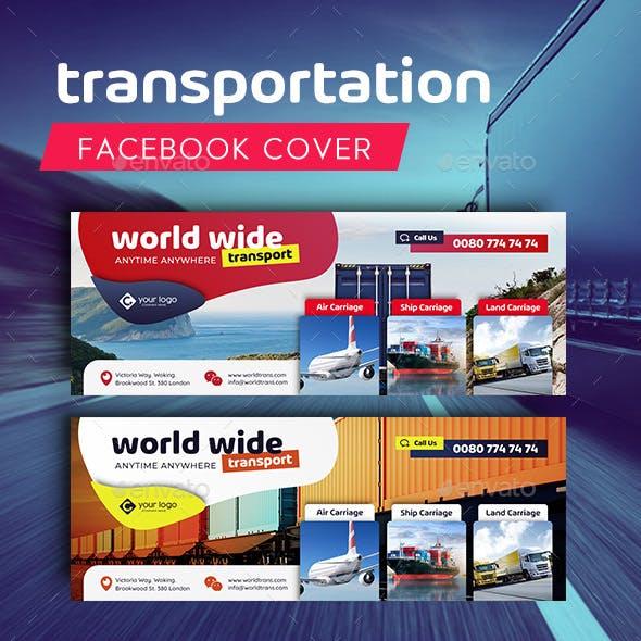 Transportation Facebook Cover