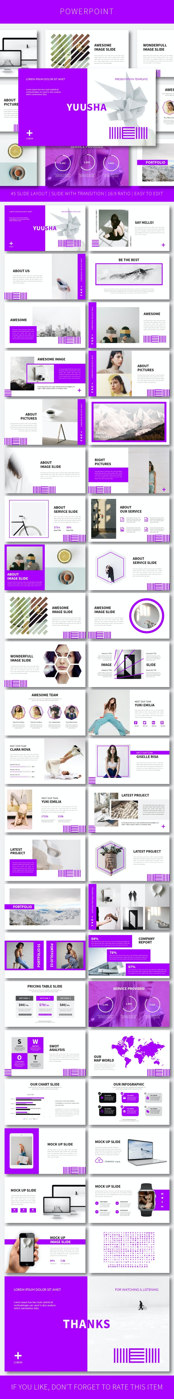 Yuusha PowerPoint Temp - Creative PowerPoint Templates