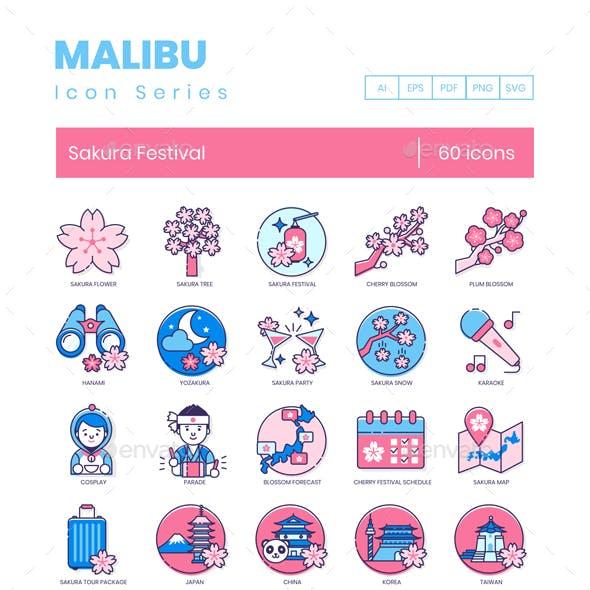 Sakura Culture Icons