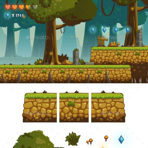 Game Tiles and Background