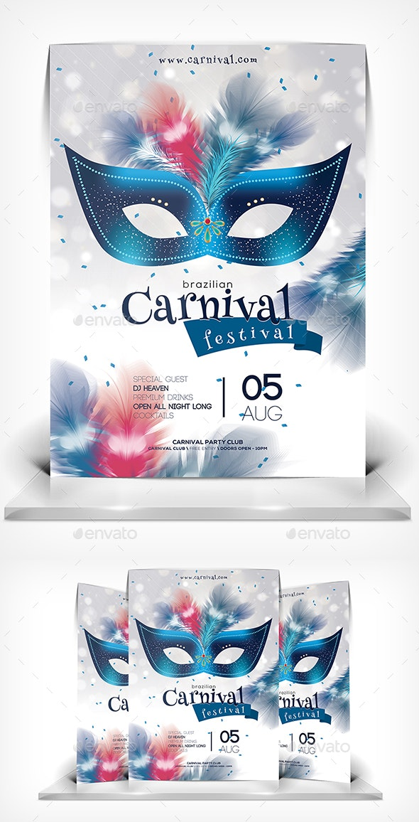 Welcome to Carnival Festival - Events Flyers