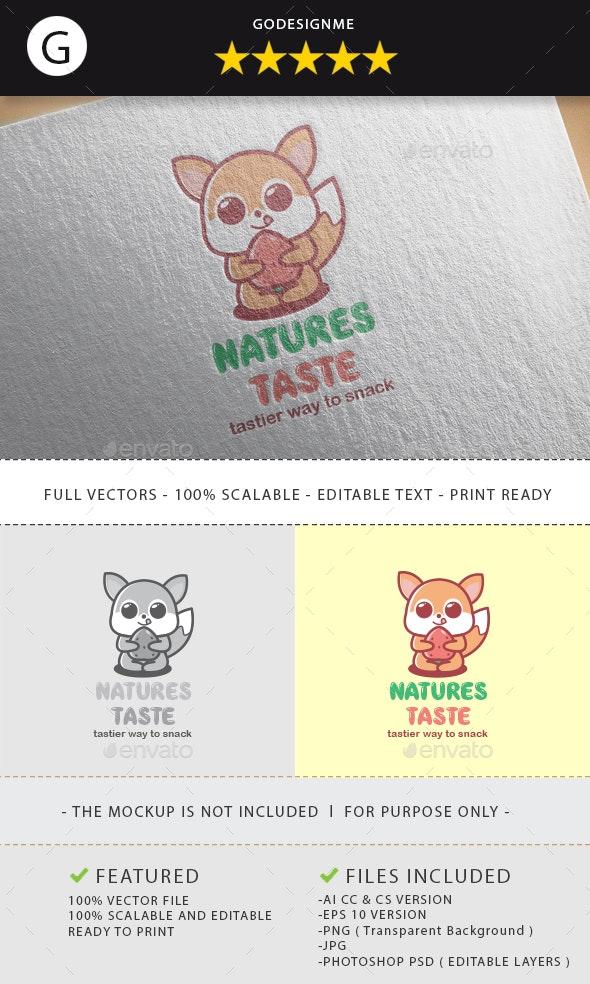 Natures Taste Logo Design - Vector Abstract