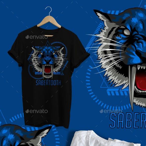 Sabertooth Tiger Design