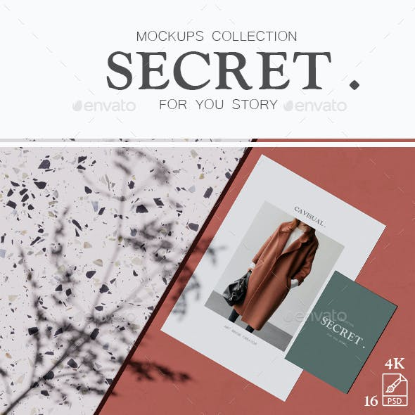 Mockups Collection - Secret