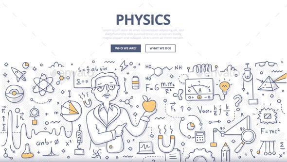 Physics Doodle Concept - Miscellaneous Conceptual