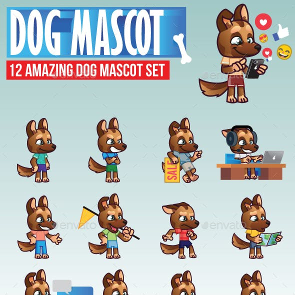 Dog Mascot Kit