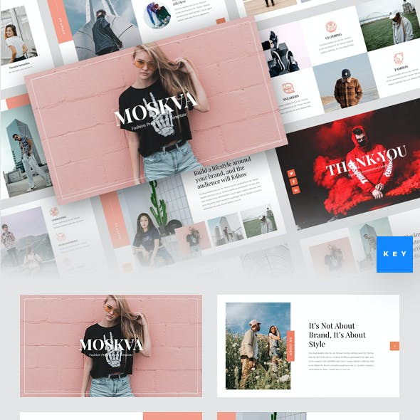 Moskva - Fashion Keynote Template