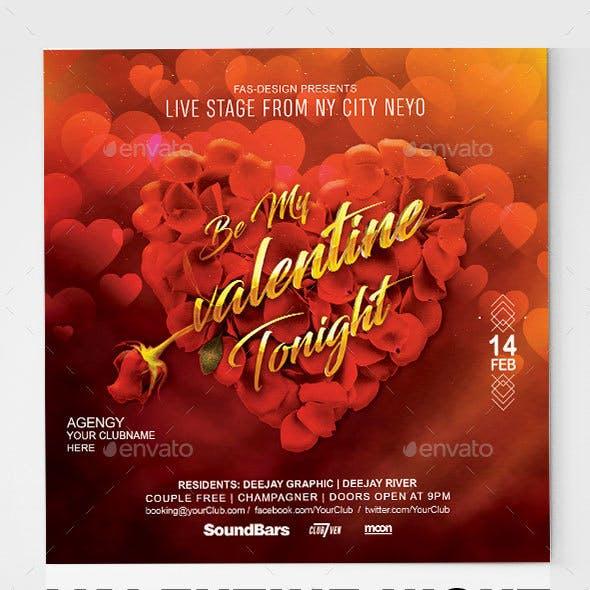 Be My Valentines Tonight