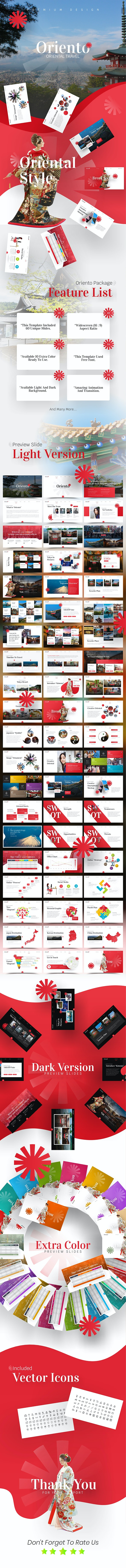 Oriento Tourism PowerPoint Template - PowerPoint Templates Presentation Templates