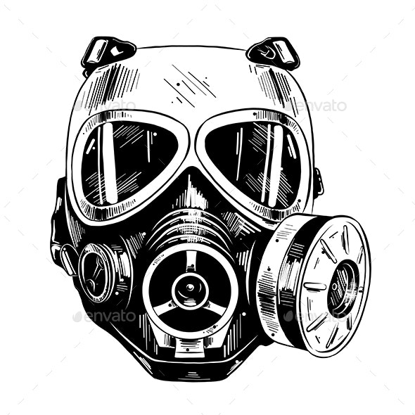 Paintball Mask  - Sports/Activity Conceptual