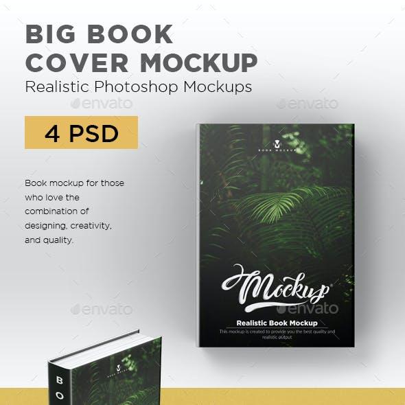 Big Book Cover Mockup