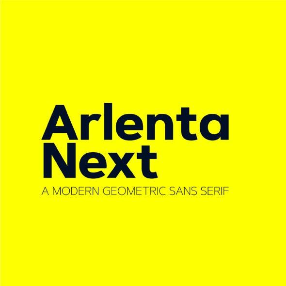 Arlenta Next Sans Font