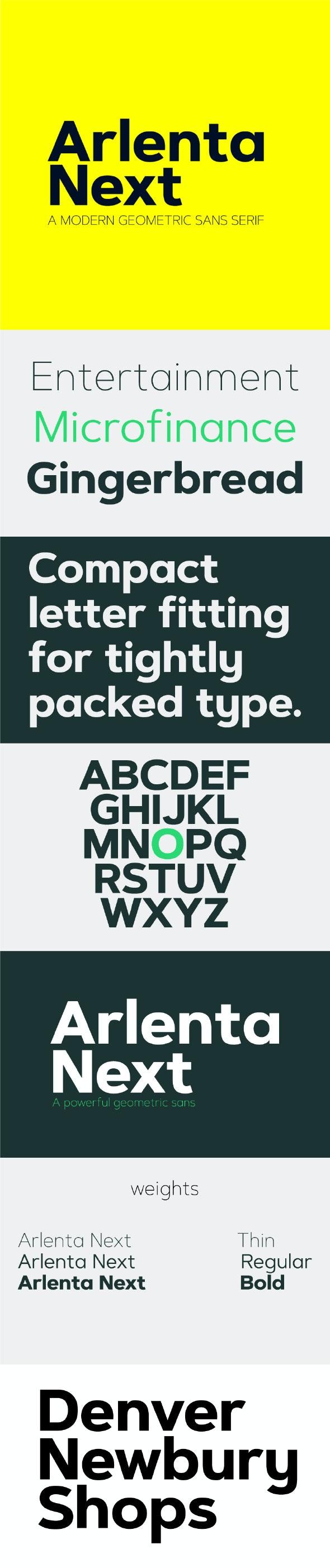 Arlenta Next Sans Font - Sans-Serif Fonts