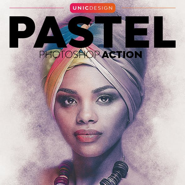Pastel Photoshop Action