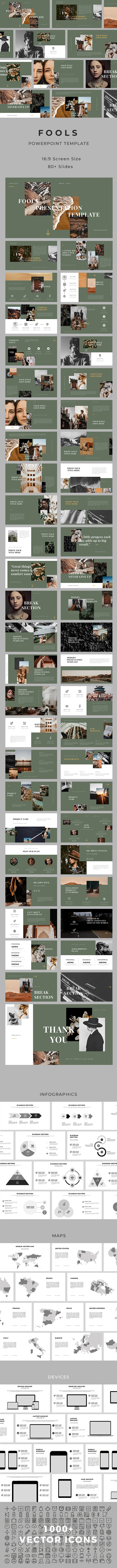 Fools PowerPoint Template - PowerPoint Templates Presentation Templates