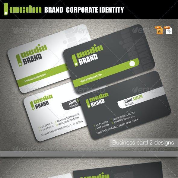Media Brand Corporate Identity