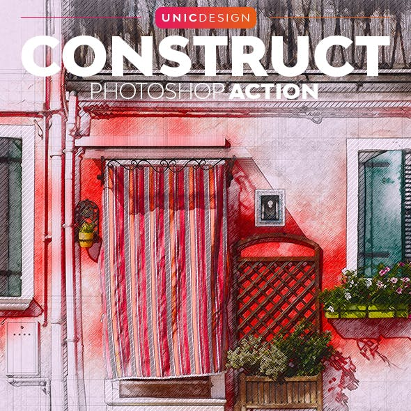 Construct Photoshop Action