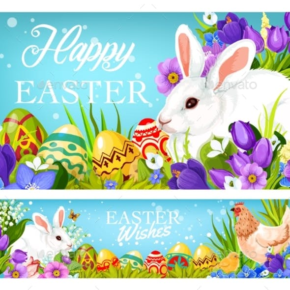 Easter Christian Holiday Greetings