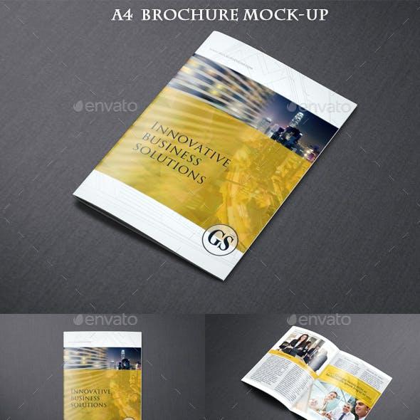 Photorealistic Brochure Mock up