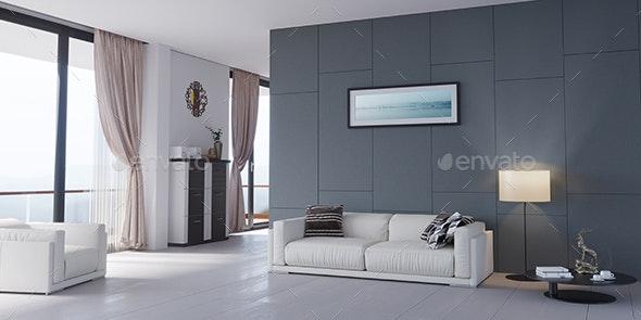 3D Room Interior Design 01 - Architecture 3D Renders