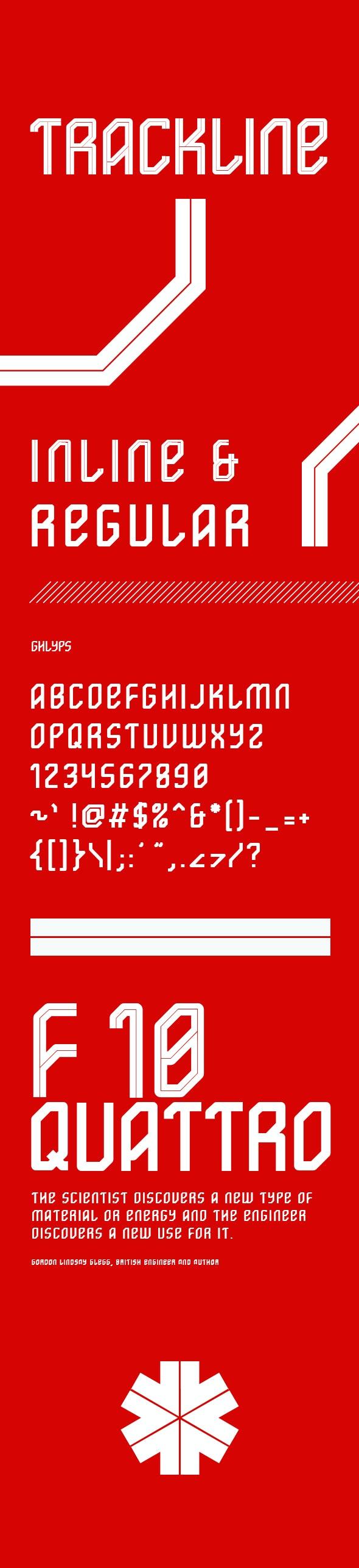 Trackline - Miscellaneous Sans-Serif