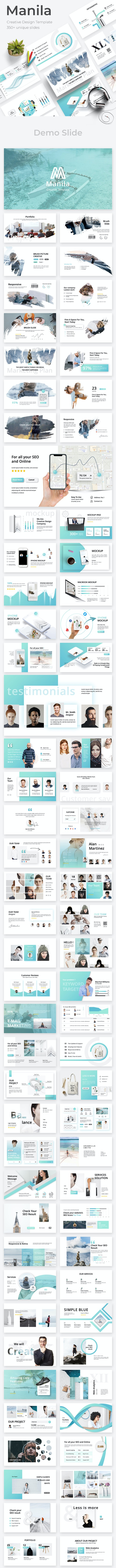 Manila Creative Powerpoint Template - Creative PowerPoint Templates