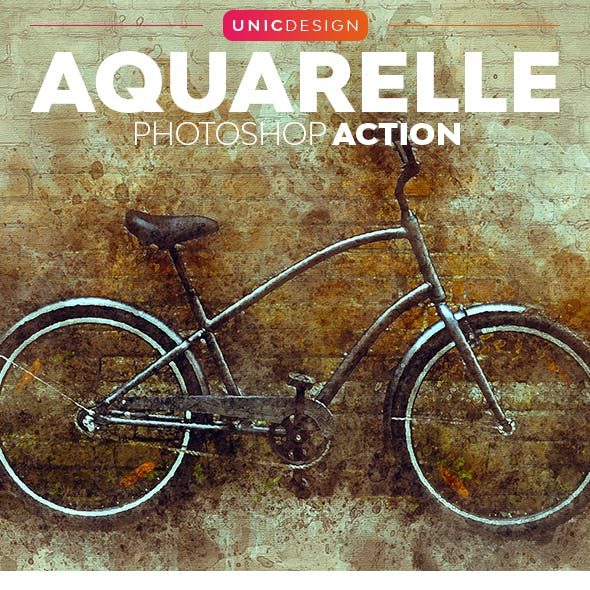 Aquarelle Photoshop Action