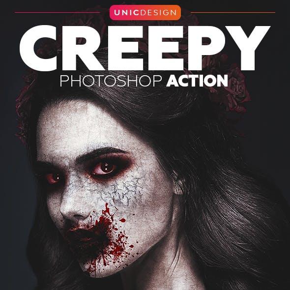 Creepy Photoshop Action