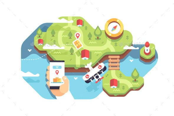 Smartphone with Application Delivery Tracking - Communications Technology