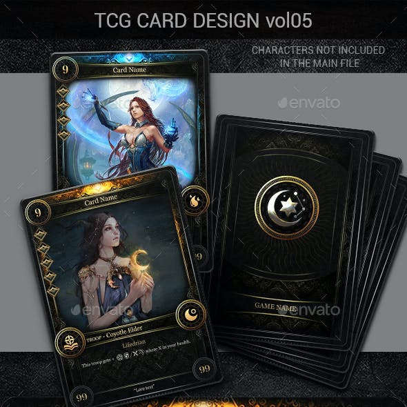 TCG Card Design Vol 5