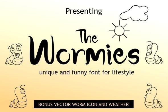 The Wormies - Comic Decorative