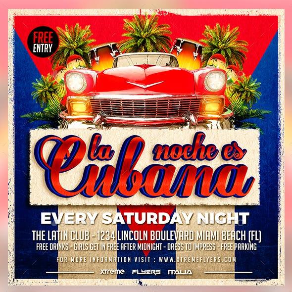 Cuban Latin Flyer
