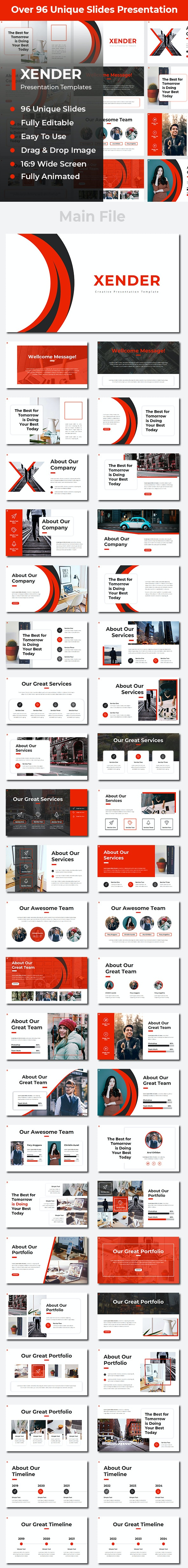 Xender Creative PowerPoint - Creative PowerPoint Templates