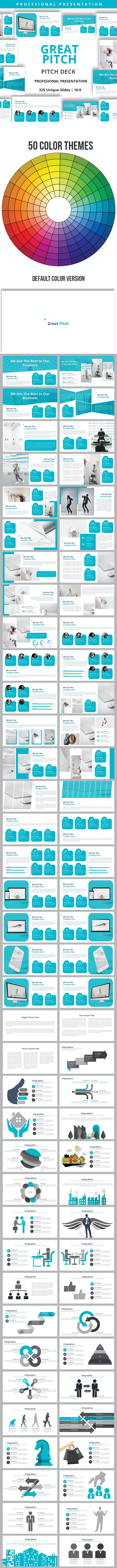 Great Pitch Powerpoint Presentation Template - Business PowerPoint Templates