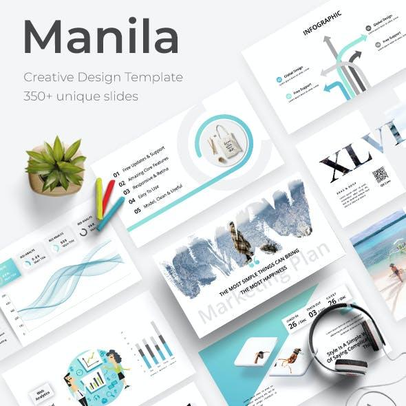 Manila Creative Keynote Template