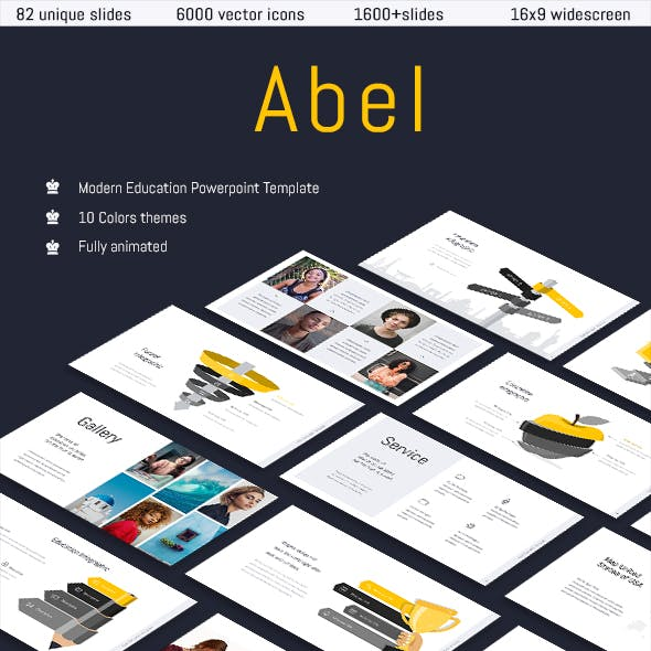Abel-Education Template