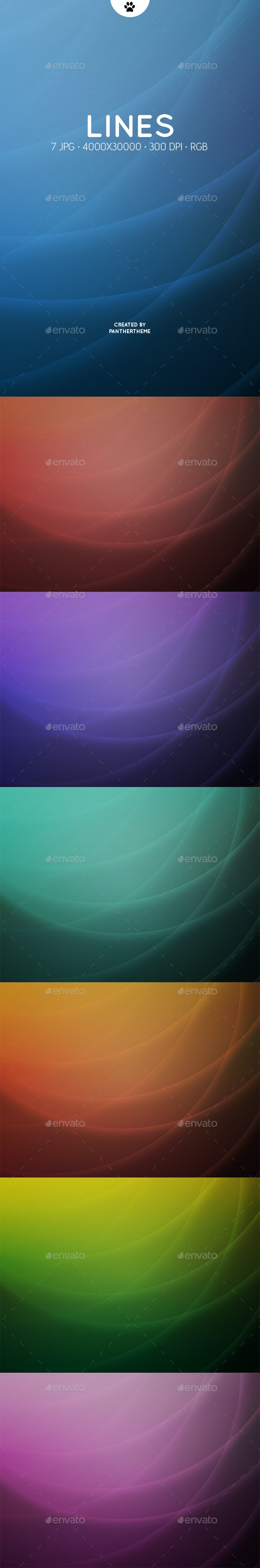 Light Lines Backgrounds - Abstract Backgrounds