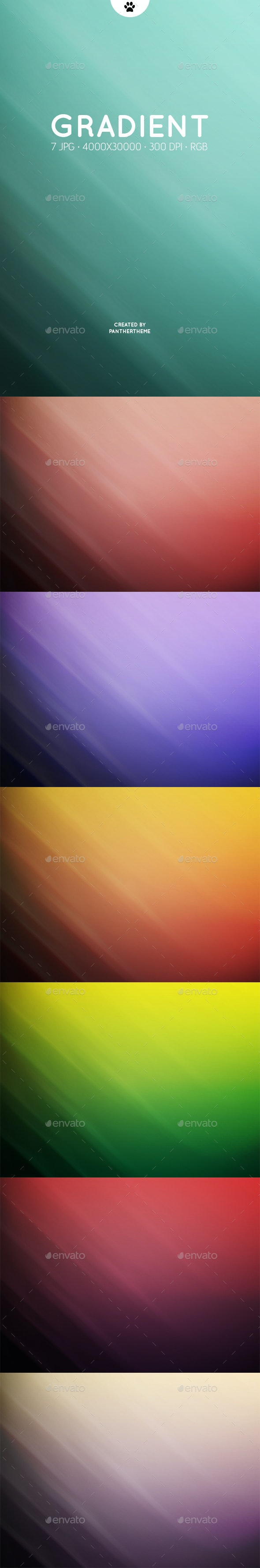 Gradient Backgrounds - Abstract Backgrounds