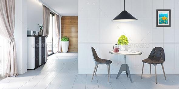 3D Room Interior Design 06 - Architecture 3D Renders