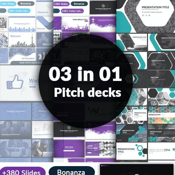 03 in 01 - Pitch Deck Bundle