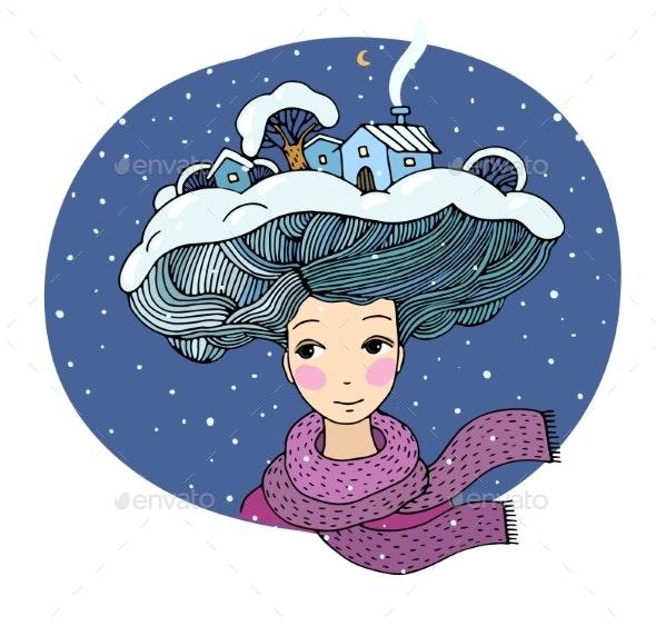The Snow Queen. - Miscellaneous Vectors