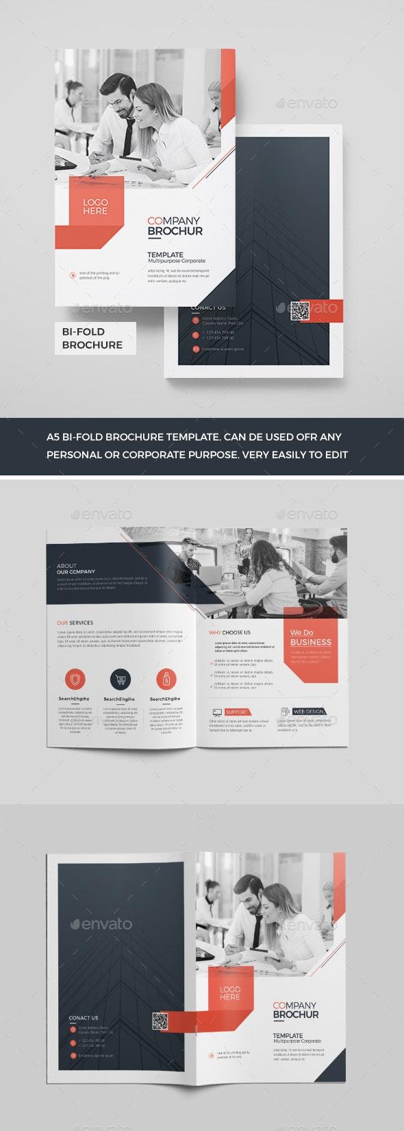 Corporate Bi-Fold Brochure - Corporate Brochures