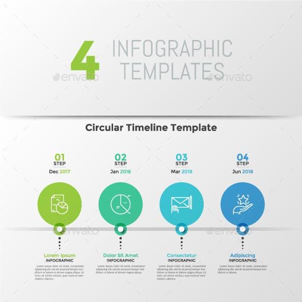 Process Infographic Graphics Designs Templates