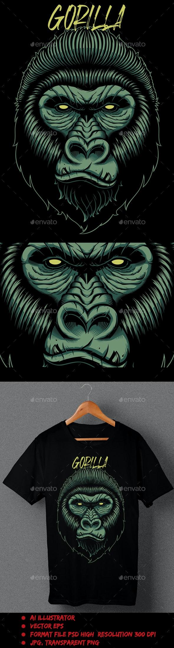 Gorilla Yellow - T-Shirts