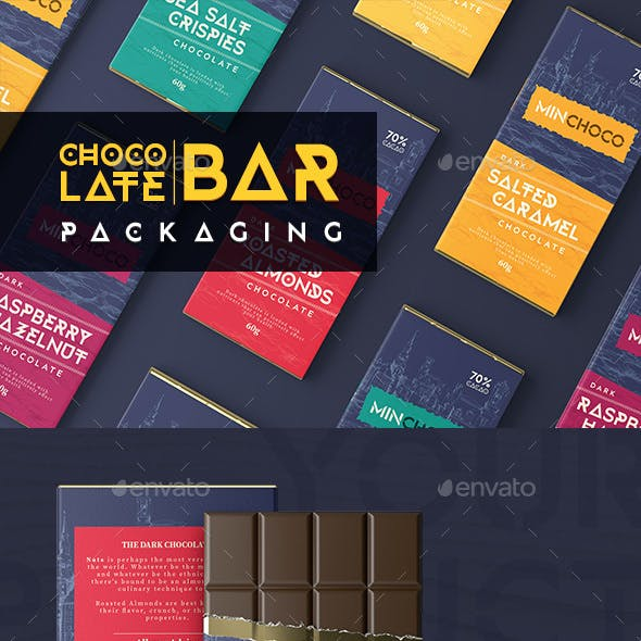 Chocolate Bar Packaging Label